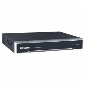Swann 8 Channel Network Video Recorder: 4K Ultra HD NVR-8000 with 2TB HDD