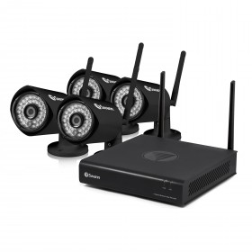 EasyView - Wi-Fi Full HD 1080p Monitoring System & Wireless Camera 4 pack