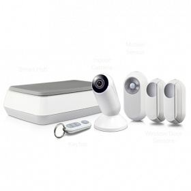 Home Alarm & Video Monitoring Kit