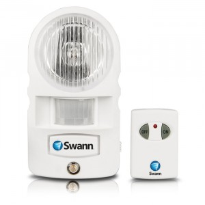 Passive infra-red motion light sensor with alarm view 1