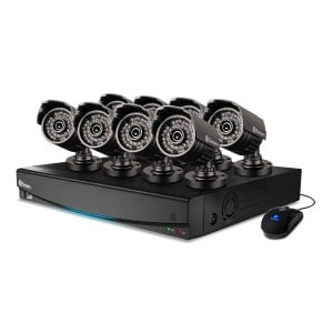 SWDVK-163428S DVR16-3425 16 Channel 960H Digital Video Recorder & 8 x PRO-735 Cameras -