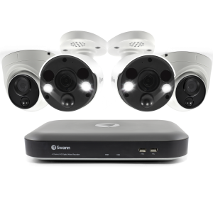 SODVK-855802D2FB 4 Camera 8 Channel 4K Ultra HD DVR Security System (Plain Box Packaging) -