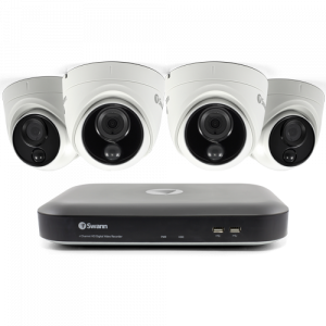SODVK-455804D 4 Camera 4 Channel 4K Ultra HD DVR Security System (Plain Box Packaging) -