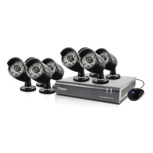 SWDVK-844008 DVR8-4400 - 8 Channel 720p Digital Video Recorder & 8 x PRO-A850 Cameras -