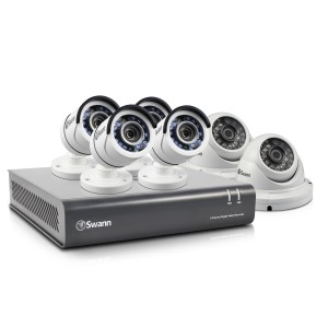 DVR8-4550 8 Channel 1080p HD Digital Video Recorder with 4 x PRO-T853™ Bullet & 2 x PRO-T854™ Dome Cameras
