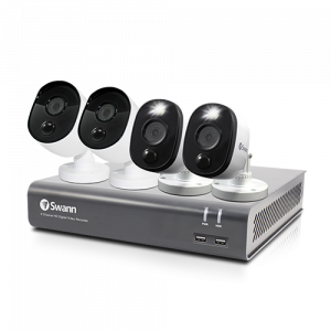 SWDVK-84580V2B2FB 4 Camera 8 Channel 1080p Full HD DVR Security System -