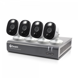 SWDVK-445804WL 4 Camera 4 Channel 1080p Full HD DVR Security System -