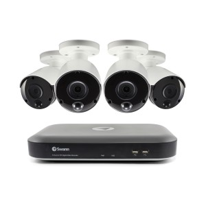SWDVK-847804 Swann 8 Channel Security System: 3MP Super HD DVR-4780 with 2TB HDD & 4 x 3MP Thermal Sensing Cameras PRO-3MPMSB -