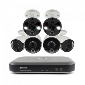 SWDVK-855804B2FB 6 Camera 8 Channel 4K Ultra HD DVR Security System -