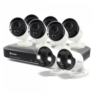 SWDVK-855806B2FB 8 Camera 8 Channel 4K Ultra HD DVR Security System -