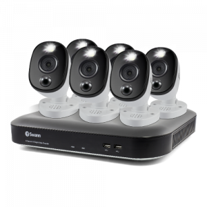 SWDVK-855806WL 6 Camera 8 Channel 4K Ultra HD DVR Security System -
