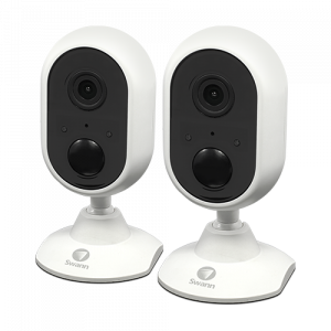 SWIFI-ALERTCAMPK2 1080p Alert Indoor Security Camera - Twin Pack -
