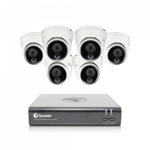 SWDVK-84580V6D 6 Camera 8 Channel 1080p Full HD DVR Security System -