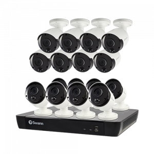 R-SWNVK-1685816 16 Camera 16 Channel 4K Ultra HD NVR Security System   -