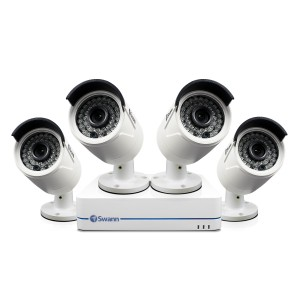 NVR4-7285 4 Channel 1080p Network Video Recorder & 4 x NHD-810 Cameras (Plain Box Packaging)