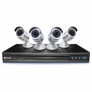 NVR8-7090 8 Channel 3MP NVR with Smartphone Viewing & 4 x NHD-835 Cameras