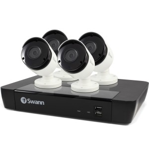 SWNVK-874504 Swann 8 Channel Security System: 5MP Super HD NVR-7450 with 2TB HDD & 4 x 5MP NHD-855 Bullet Cameras -