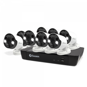 SWNVK-875808FB 8 Camera 8 Channel 5MP Super HD NVR Security System -