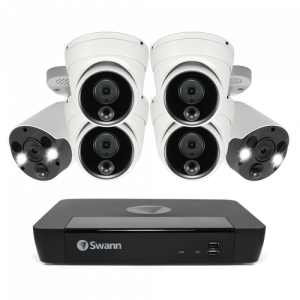SONVK-886804D2FB 6 Camera 8 Channel 4K Ultra HD NVR Security System -