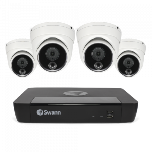 SWNVK-886804D 4 Camera 8 Channel 4K Ultra HD NVR Security System -