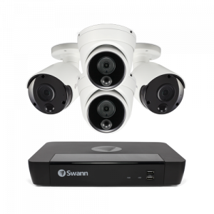 SONVK-886802D2B 4 Camera 8 Channel 4K Ultra HD NVR Security System -