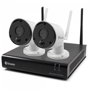 SWNVK-490SD2 2 Camera 4 Channel 1080p Wi-Fi NVR Security System   -