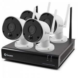 R-SWNVK-490SD4 4 Camera 4 Channel 1080p Wi-Fi NVR Security System -