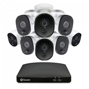 SODVK-8CH1080A1 8 Camera 8 Channel 1080p Full HD DVR Security System (Plain Box Packaging) -