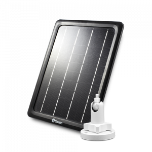 SWIFI-SOLAR Outdoor Solar Panel with Outdoor Mount Stand for Wire-Free Security Cameras -