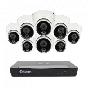 SONVK-1686808D 8 Camera 16 Channel 4K Ultra HD NVR Security System (Plain Box Packaging) (Online Exclusive) -