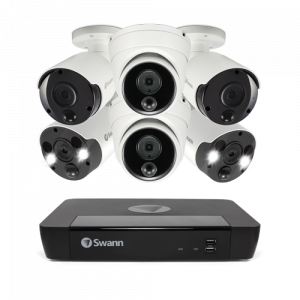 SONVK-8862D2B2FB 6 Camera 8 Channel 4K Ultra HD NVR Security System -