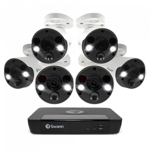 SONVK-886806FB 6 Camera 8 Channel 4K Ultra HD NVR Security System -