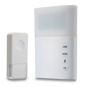 Wireless Door Chime with Light - SWADS-DC835P