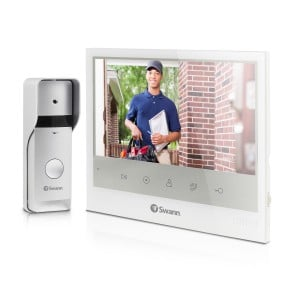 """Expandable Intercom & Video Doorphone with 7"""" LCD Monitor - SWADS-DP885C"""