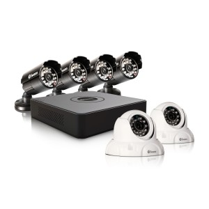 DVR8-1525 8 Channel 960H Digital Video Recorder, 4 x PRO-615 Cameras & 2 x PRO-736 Dome Cameras