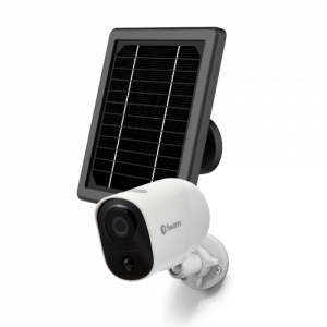 SWIFI-XTRCAMKITA Xtreem Security Camera with Solar Charging Panel & Outdoor Stand -