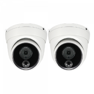 SONHD-888MSDPK2 4K Ultra HD Thermal Sensing Dome IP Security Camera - 2 Pack (Plain Box Packing) -