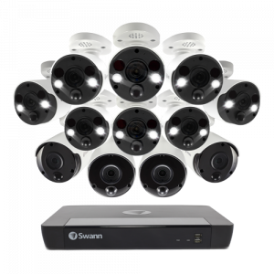 SWNVK-1686804B8FB 12 Camera 16 Channel 4K Ultra HD NVR Security System -
