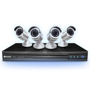 NVR4-7000 NVR home cctv kit with 4 x HND-800 security cameras view 7