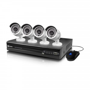 NVR4-7082 4 channel 720p HD security system with 4 x HND-806 surveillance cameras view 1