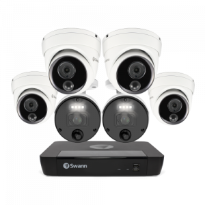 SONVK-876804D2B Master Series 6 Camera 8 Channel NVR Security System (Plain Box Packaging) (Online Exclusive) -