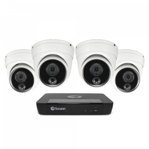 SWNVK-876804D Master-Series 4 Camera 8 Channel NVR Security System -