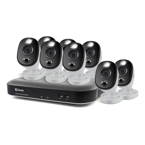 SWDVK-855808WL 8 Camera 8 Channel 4K Ultra HD DVR Security System -