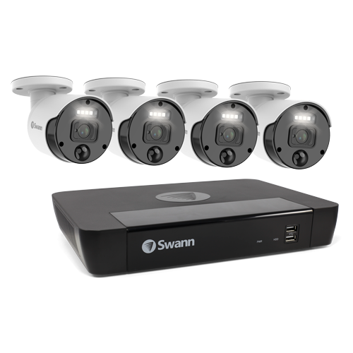 SWNVK-876804-AU Master-Series 4 Camera 8 Channel NVR Security System -