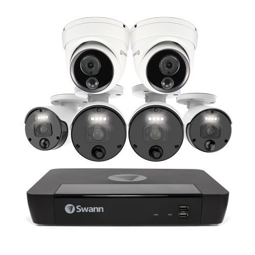 SONVK-876804B2D Master-Series 6 Camera 8 Channel NVR Security System (Online Exclusive) -