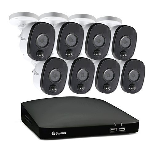 R-SODVK-8CH1080A1 Refurbished 8 Camera 8 Channel 1080p Full HD DVR Security System (Plain Box Packaging) -