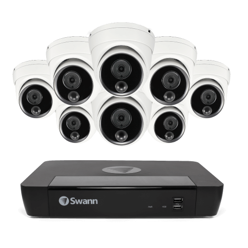 SONVK-876808D3T 8 Camera 8 Channel 4K NVR Security System (Plain Box Packaging) (Online Exclusive) -