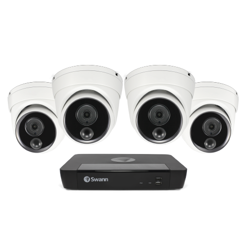 SWNVK-876804D Master Series 4 Camera 8 Channel NVR Security System -