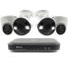 4 Camera 4 Channel 4K Ultra HD DVR Security System (Plain Box Packaging)