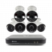 6 Camera 8 Channel 4K Ultra HD DVR Security System